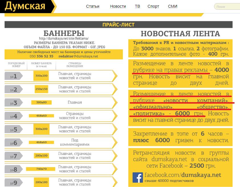 """вартість """"джинси"""" в одеських ЗМІ"""